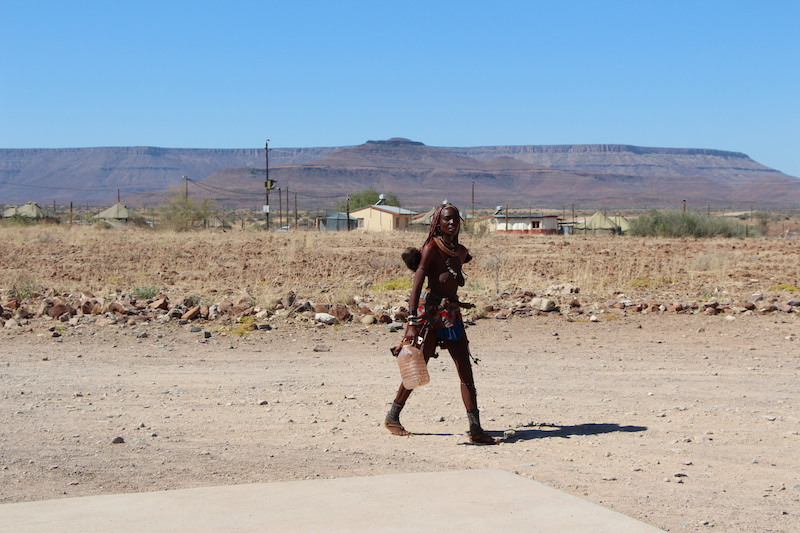 Himba women in the Conservancy